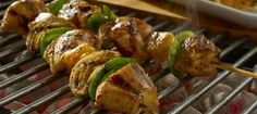 Tropical Chicken Skewers
