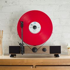 Giveaway: A Floating Record™ Vertical Turntable from Gramovox | Turntable Kitchen
