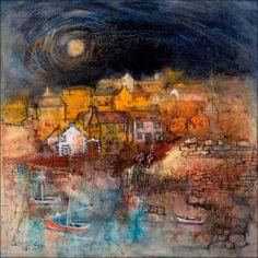 Portsoy Harbour by Kanita Sim.