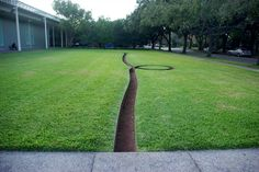 Stephanie Clayton :: Art Journal: art spaces | menil collection front lawn