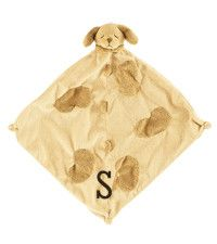 Personalized baby lovies and blankets favorite baby gifts cozy monogrammed baby blanket with puppy negle Choice Image