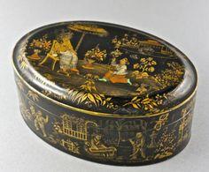 Teedose-Deckeldose-mit-Scharnier-vermutlich-Japan-um-1900-Antik