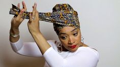 Easy Head Wrap Tutorial #8 | Go Bold - YouTube