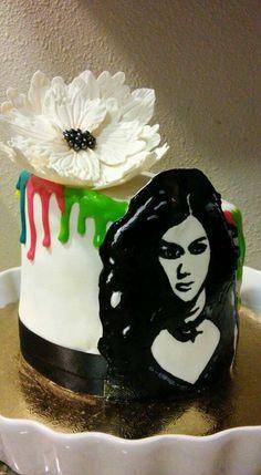 Kelly Clarkson cake https://www.facebook.com/roartasticdesserts/