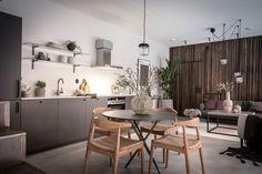 Jeu de matières dans un duplex suédois - PLANETE DECO a homes world