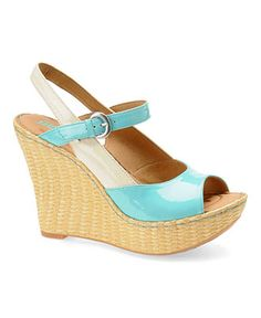 "love these Born ""Mina"" Wedge Sandals...they're gorgeous!"