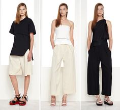 Modern Capsule Wardrobe by Donna Karan Resort 2016  wgsn