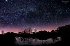 Sterne, Stars, Sternenhimmel, Mond, Mood, Night, Sea, See, Lake, Beautiful, Long Exposure, Langzeitbelichtung Mehr davon auf www.SagtMirNix.net