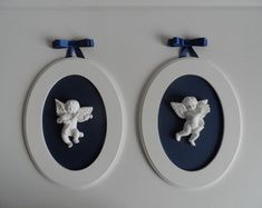 Quadro Oval P Anjos