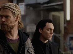 Loki Thor, Loki Avengers, Loki Laufeyson, Tom Hiddleston Loki, Marvel Avengers, Marvel Gif, Marvel Memes, Chris Hemsworth, Black Widow Winter Soldier