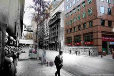 """""""La Persistencia de la Memoria"""", de Andrés Cruzat: Santiago sob a ditadura e hoje."""