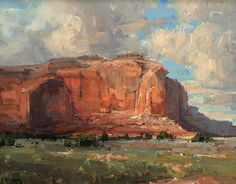 Desert Monument by Kathryn Stats - Greenhouse Gallery of Fine Art