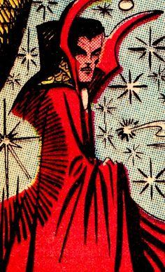 Doctor Strange by Steve Ditko 1965 Doctor Strange Comic, Doc Strange, Marvel Art, Marvel Heroes, Marvel Avengers, Comic Frame, Steve Ditko, Man Thing Marvel, Comic Panels