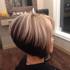 All sizes | 22860 | Flickr - Photo Sharing! Short Wedge Hairstyles, Latest Short Hairstyles, Short Hair With Layers, Short Hair Cuts, Short Hair Styles, Stacked Bob Hairstyles, Blonde Bob Hairstyles, Pixie Haircut For Thick Hair, Beautiful Haircuts