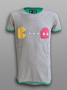 Patch-Man - #πλAy #play_shirts #pacman #tshirt #tee #streetwear #80s #arcade #retro #video #games #gamers #shop #patchwork #patch #3d #handmade
