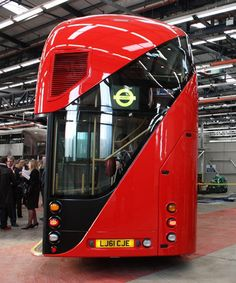 New London bus (back)