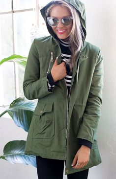 Ripley Coat Khaki | Beginning Boutique #BBFEST #beginningboutique