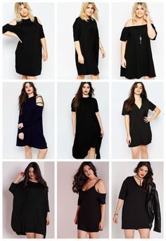 Plus Size Minimalist dresses