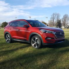 This week's review vehicle the 2016 Hyundai Tuscon Limited.