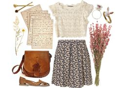 Letters to Juliet by dasha-volodina featuring long skirts