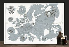 Breweries of Europe by Pop Chart Lab is a tasty poster design that comprehensively maps out approximately 1,000 beer breweries from all over the continent of Europe.