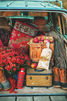 Let's take a Fall day trip. From Autumn Spice Latte blog
