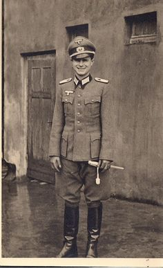 Soldier - from paderborn - at his wedding day 1943