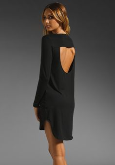 $96 LNA Collette Cutout Dress in Black at Revolve Clothing - Free Shipping!