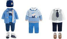 Γαλάζιες αποχρώσεις για νεογέννητα αγοράκια.