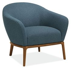 Sadie Chair - Modern Accent & Lounge Chairs - Modern Living Room Furniture - Room & Board Modern Bedroom Furniture, Modern Room, Modern Chairs, Living Room Furniture, Modern Living, Chair And Ottoman, Upholstered Chairs, Club Chairs, Lounge Chairs