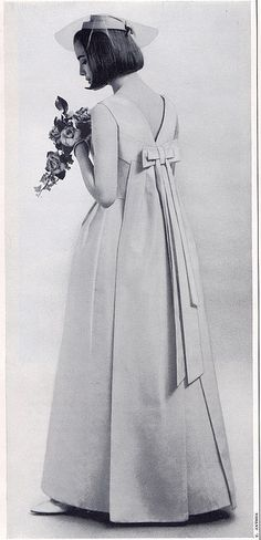 1960's bridesmaid dress.