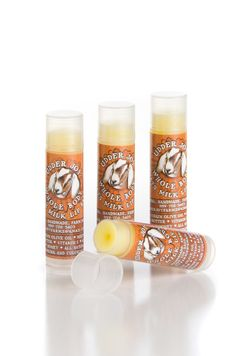 Raw Blessings Orange Milk & Honey Lip Balm by UdderJoyFarms, $3.00