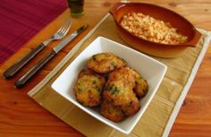 Cod 'pataniscas' (fried cod) | Food From Portugal