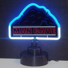 Man Cave Neon Sculpture | On Sale for Just $68.00 at Wizkick.com |  The Perfect Addition to Any Man Cave!