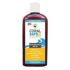 All Natural Coral Safe / Reef Safe / Biodegradable Sunscreen - SPF 30 - 8 fl Oz - Water Resistant and Coral Safe! Approved Snorkeling and Scuba Diving Sunscreen! Giá trọn gói về Việt Nam : 761.424 đ Link: http://www.9am.vn/all-natural-coral-safe-reef-safe-biodegradable-sunscreen-spf-30-8-fl-oz-water-resistant-and-coral-safe-approved-snorkeling-and-scuba-diving-sunscreen.html