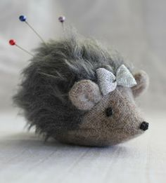 Hedgehog pincushion - adorable