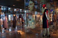 Terrific exhibition. Loved seeing so many beautiful frocks up close. Schiaparelli & Prada. Photo: Ruth Fremson, The New York Times