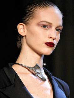 A 'Powerful' way to wear the slicked back bun - YSL