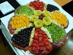 Serving fruits