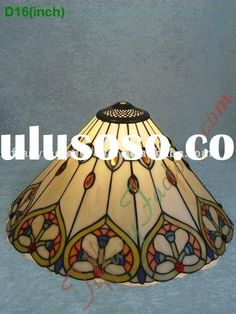 Tiffany Stained Glass Lamp Shade-LS16T000432