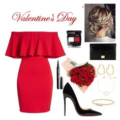 Designer Clothes, Shoes & Bags for Women Henri Bendel, David Yurman, Happy Valentines Day, Victoria Beckham, Christian Louboutin, Polyvore, Shopping, Collection, Design