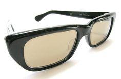 Vintage 1950s Sunglasses  Black Rodenstock  Mod MORENA - 56 euro
