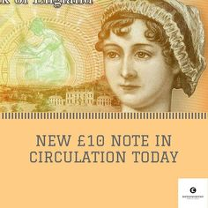 The New Ten Pound Banknote Is Here I Can T Wait