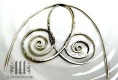 silver-spiral-earrings