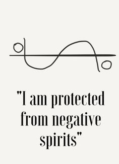 I am protected from negative spirits sigil. Still in the broom closet