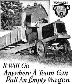 1919 Winther Motor Truck