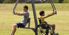 GTfit Advanced Series | Outdoor Fitness Equipment |GameTime>>> See it. Believe it. Do it. Watch thousands of spinal cord injury videos at SPINALpedia.com