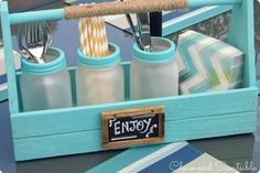 more things to do with mason jars!  from somewhatsimple.com