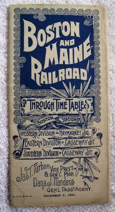 Railroad Route Map Cover