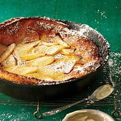 Apple-Cinnamon Dutch Baby | MyRecipes.com
